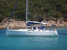 Dufour Yachts Dufour 425 Grand 'Large :Anchorage in The Mediterranean Sea
